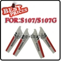 Red 4Pcs RC Main Blade S107-02 For Syma S107G 3CH RC Helicopter