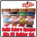Solid 12 Colors Opaque Mix UV Builder Gel Nail Art x 8ml
