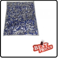 Blue 20000 CRYSTAL GLITTER NAIL ART RHINESTONE 2MM