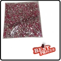 Red 20000 CRYSTAL GLITTER NAIL ART RHINESTONE 2MM