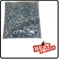 Sky Blue 20000 CRYSTAL GLITTER NAIL ART RHINESTONE 2MM