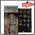New packaged 1pcs Foils in Print Design Nail Art Foil Stickers*