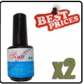 2 UV Gel Nail Primer Professional Tip Tool 0.5oz 14ml