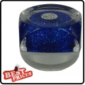 R032 Darkblue Glitter Circle UV Color Gel For Nail Art