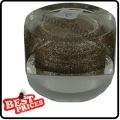 R038 Light Brown Glitter Circle UV Gel For Nail Art