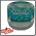 R019 Turquoise Tiny hexagonal Color UV Gel For Nail Art