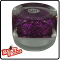 R084 Violet Tiny hexagonal Color UV Gel For Nail Art