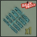 10 Professional 009 French False Acrylic Nail Art Tips