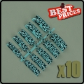 100 Professional 009 French False Acrylic Nail Art Tips