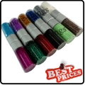 S052 12 glitter decoration nail art powder dust bottle