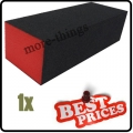 1 x  S019 black nail art sanding block files buffer gel 3-sided