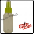 Yellow Spray Bottle Nail Art Makeup Cleanser Container 75cc