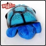 Twilight Kid Baby Sleep Turtle Night Light Stars Led Lamp Projector Blue