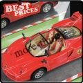 Red 5 channels WL 8887 Mini Metal Emulation RC Car W/ CE & ROHS Toy Gift