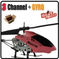 Pink S107G S107 3 Channel 3CH RC GYRO Metal Helicopter