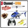 Blue 3CH RC Remote Control S107G GYRO Metal mini Helicopter