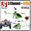 9102 Double Horse 3-Channel 3.5CH RC Helicopter Gyro 9098 Upgrade Ver