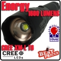 CREE XM-L  T6 LED Energy Flashlight  Zoomable
