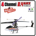 9016 White 2.4G 4 Channel GYRO Metal Mini Radio Control RC Helicopter