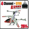 HCW-536 Red Sky Star 4 CH GYRO Metal Radio Control Helicopter 2.4G