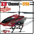 Red 30 inches Big 3.5 Channel Metal RC Speed King-X 545 Helicopter