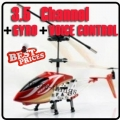 6875-2 Red 3.5 CH Infrared Remote/English Voice Control Helicopter Gyro