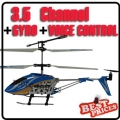6875-2 Blue 3.5 CH Infrared Remote/English Voice Control Helicopter Gyro
