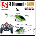 Green 9102 3.5CH Infrared Control Metal Helicopter Gyro