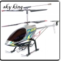 "Silver 36"" Huge GYRO 3.5-Channel RC Helicopter SKY KING 8500"