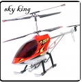 "Red 36"" Huge GYRO 3.5-Channel RC Helicopter SKY KING 8500*"