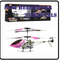 6020 Pink RC Infra Micro 3 CH V Max Metal Frame Helicopter *