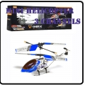 6020 Blue RC Infra Micro 3 CH V Max Metal Frame Helicopter