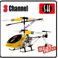 6020 Yellow RC Infra Micro 3 CH V Max Metal Frame Helicopter *