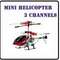 6020 Red RC Infra Micro 3 CH V Max Metal Frame Helicopter *