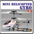 Pink Swift X-RAY 3 CH GYRO Mini Metal Rc Helicopter 6023-1