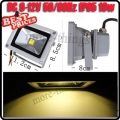10W LED Flood Wash Light Projection Lamp Bulb 12V DC Warm White Outdoor