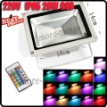 20W LED RGB Color Change Flood Light Lamp Remote Control 220V