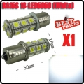 Car Pure White 1156 BA15S 18 SMD 5050 LED Tail Brake Interior Light Bulb 12V New