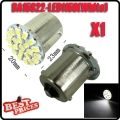 1Pcs 1156 BA15S P21W 1129 Car White 22 1206 SMD LED Tail Signal Light Lamp Bulb