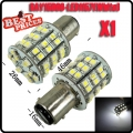 T25 BAY15D 1157 Pure White 60 SMD LED Tail Stop Brake Turn Light Lamp Bulb