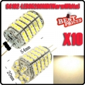 10X G4 102 SMD 6W 510 LM 3528 LED 360° Spot Light Lamp Bulb 12V Warm White 3500K