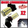 2 X Car Vehicle 9006 HB4 3528 102 SMD SMT LED White Head Light Bulb Lamp Fog 12V
