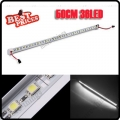 Pure White 50cm 36 LED 5050 SMD Rigid Strip Light with Aluminum Alloy Shell 12V