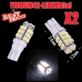 2x T10 168 194 W5W 42 LED SMD White Wedge Turn Signal Light Lamp Bulb DC 12V New
