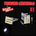 1x T10 194 168 501 W5W 9 SMD LED Pure White Wedge Side Light Lamp Bulb12V New