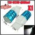 1Pcs T20 3156 W21W 7W LED Cree Q5 High Power Backup Reverse Light Backwards Blue
