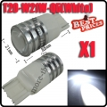 1X T20 3156 W21W 7W LED Cree Q5 High Power Backup Reverse Light Backwards Silver