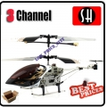 6020 Black RC Infra Micro 3 CH V Max Metal Frame Helicopter