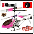 6020 Pink RC Infra Micro 3 CH V Max Metal Frame Helicopter