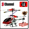 6020 Red RC Infra Micro 3 CH V Max Metal Frame Helicopter